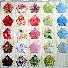 origami obalka, adventví kalendář