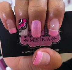 Crazy Nails, Love Nails, Pretty Nails, My Nails, Elegant Nail Designs, Nail Art Designs, Glam Nails, Beauty Nails, Hot Pink Nails
