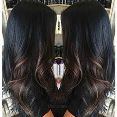Wonderful Highlights for Dark Hair!