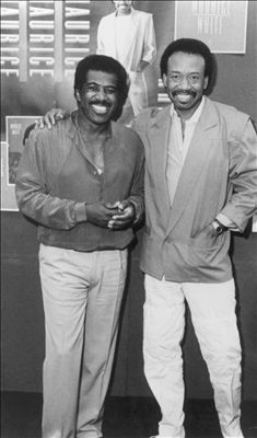 Ben E. King and Maurice White of Earth, Wind and Fire