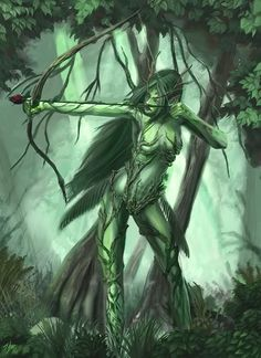 the warrior faerie - ever patient and steady and always hits where her aim is