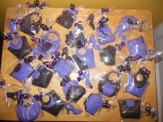 chocolate party favors