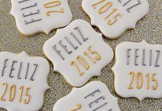 Postreadicción galletas decoradas, cupcakes y pops: Galletas decoradas de Navidad