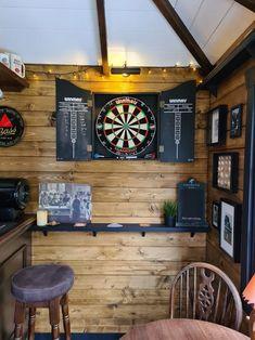 Diy Home Bar, Home Pub, Bars For Home, Man Cave Shed, Man Cave Home Bar, Man Shed Bar, Man Cave Pub, Cave Bar, Man Cave Room