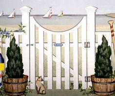 Porthole Gate and Fence