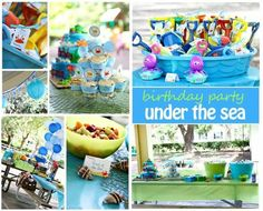 Ocean themed party by angela