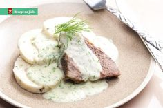 Dill Sauce Beef Meat​: stock fotografie (k okamžité úpravě) 243215653 Slovak Recipes, Czech Recipes, Ethnic Recipes, Dill Sauce, Dumpling Recipe, Gravy, Good Food, Food And Drink, Favorite Recipes
