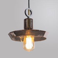 Lámpara colgante TOPAZ 1 cobre #iluminacon #decoracion #interiorismo