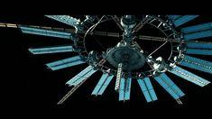 "ArtStation - ""Geostorm"" Space sequences, David Desplat"