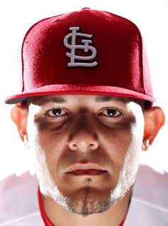 Yadier Molina, catcher (he puts those eyes on his pitcher, like, throw like I tell you to)