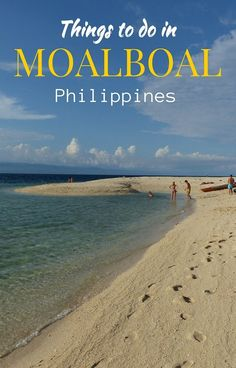 Our guide to everything you need to know about Moalboal! Including things to do in Moalboal, Philippines, where to stay, how to get there, Moalboal with kids, etc