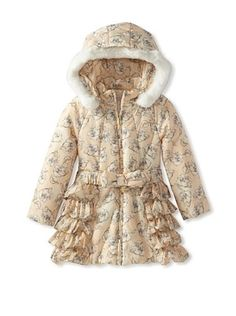 50% OFF Blumarine Girl's Floral Coat