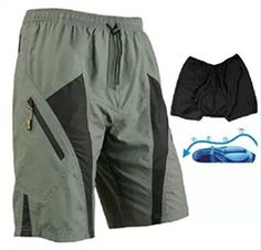 Outdoor ManagerMen Cycling Bicycle Shorts Outdoor Sports liner CoolMax Paddel Short Size L 302329 ** Find out more about the great product at the image link.