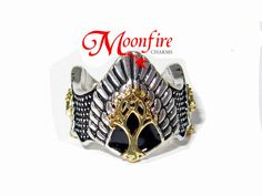 LORD OF The RINGS Aragorns Crown Ring by moonfirecharms on Etsy, $20.00   I…