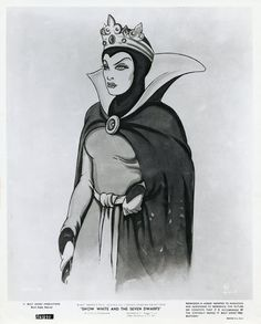 This is a complete set of 12 glossy black & white photos from the 1967 North American theatrical re-release of Snow White and the Seven. Evil Villains, Disney Villains, Disney Princess Snow White, Walt Disney Pictures, Seven Dwarfs, Press Kit, The Seven, Disneyland, Fan Art