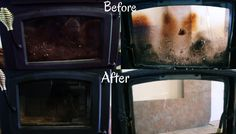 diy home sweet home: The Secret to Cleaning Your Fireplace Glass