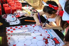 Hello Kitty Birthday Party Ideas | Photo 23 of 51 | Catch My Party