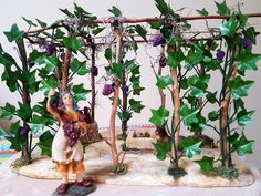 Viñedo belenismo Garden Ideas, Favorite Things, Fairy, Statue, Models, Large Flower Arrangements, Templates, Landscaping Ideas, Backyard Ideas