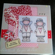 Card dikke knuffel Atc, Card Making, Scrapbook, Homemade, Cards, Pictures, Decor, Dekoration, Decoration