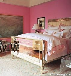 Bright and Girly Room.