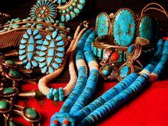 Navajo & Hopi Turquoise & Silver jewelery
