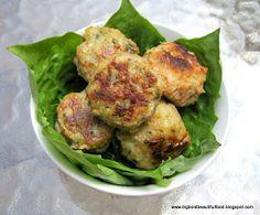Big, Bold, Beautiful Food: Ninette is Back: Chicken Pesto Meatballs