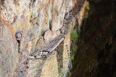 Inca Bridge in Peru