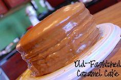 Old-Fashioned Caramel Cake