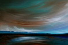 """Saatchi Online Artist Laura Blue Palmer; Painting, """"Turquoise Earth"""" #art"""