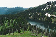 lower siamese lake, montana--great photo!! @Megan Robinson :)