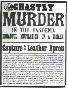 Jack the Ripper was the nickname for a serial killer that stalked the general area in and around Whitechapel in London, England during Nothing is known for sure regarding the identity of this killer or the exact number of victims. Breaking Bad, Who Is Jack, Jack Ripper, Police, Victorian London, Victorian Era, Vintage London, Victorian Halloween, Newspaper Headlines