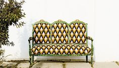Tissu d'ameublement pour siège Une manière originale d'offrir de la modernité à votre mobilier ancien ! Gaston Y Daniela-Tierras