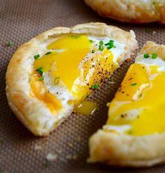 Запеченные яйца 1