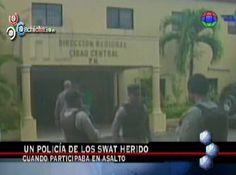 Un Policía De Los SWAT Herido Cuando Participaba En Asalto #Video