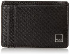 TUMI Mens Monaco Money Clip Card Case Black One Size >>> Want additional info? Click on the image.