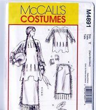 Retired McCalls M4891 Native Americ...