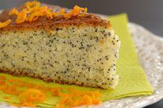 Narancsos-mákos süti kevert tésztából - Recept | Femina
