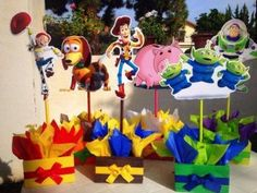 Toy story centerpieces