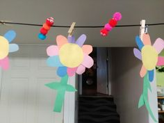 Flowers toddler craft