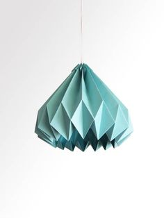 Hey, I found this really awesome Etsy listing at http://www.etsy.com/listing/165325394/water-drop-origami-paper-lampshade