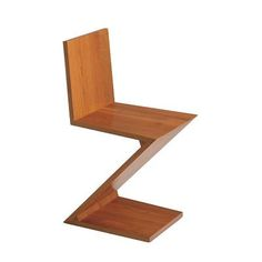 Zig-Zag chair by Gerrit Thomas Rietveld