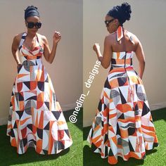 Amazing African fashion clothing looks Ideas 6597734199 Long African Dresses, Latest African Fashion Dresses, African Print Dresses, African Print Fashion, African Prints, African Attire, African Wear, Shweshwe Dresses, African Traditional Dresses