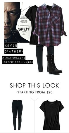 """""""Me in: 'Split'"""" by j-j-fandoms ❤ liked on Polyvore featuring Banana Republic"""