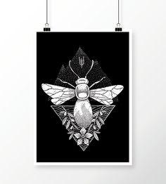 Verkami: Samarretes ubeefe 2017 #poster #nature #tattoo #illustration