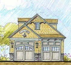 Plan W12430NE: Garage House Plans & Home Designs