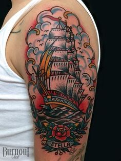 Tattoo by Christian Otto