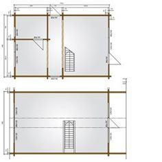 Bjælkehus model Manø