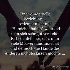 Eine wundervolle Beziehung …