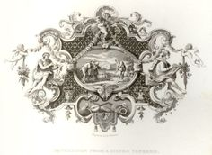 "Hogarth Steel Engraving -1861- ""SILVER TANKARD"", $24.99"