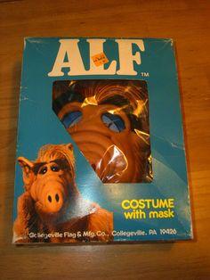 1987 Alf Costume in Orginal Box by secretpantssam on Etsy
